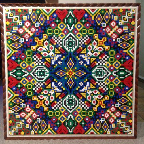 Mandala Type Mosaic by Rachel