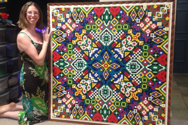 Rachel with the Mosaic