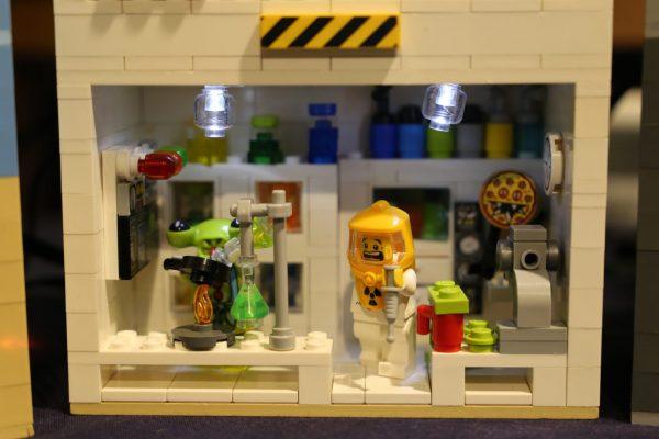 LEGO Lab scene by Rachel
