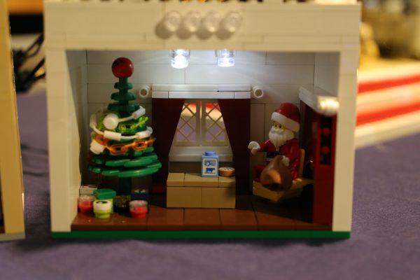 LEGO Santa scene by Rachel