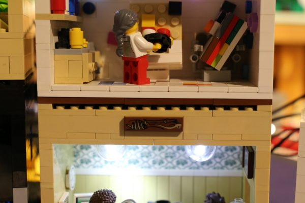 LEGO made Painting studio and office by Rachel