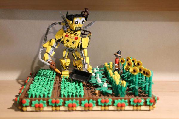LEGO Farm Mech by Jason